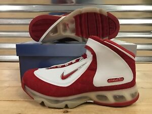 Details about Nike Air Max 360 BB Basketball Shoes 2006 White Varsity Red SZ 11 ( 313697 161 )