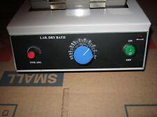 Lab Analog 2 Block Dry Bath Dsd 200 Laboratory Incubator New Never Used 160w
