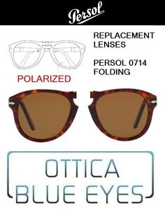 Lenti-di-Ricambio-PERSOL-FOLDING-PO-0714-filtri-Replacement-Lenses-BROWN-POLAR