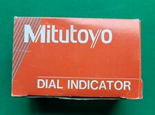 Machinist Mitutoyo 2414f 10 Full Jeweled Dial Indicator Withbox