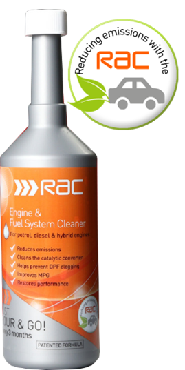 RAC Engine & Fuel System Cleaner from Cataclean Catalytic Converter DPF Cleaner