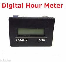 12v 24v 36v Small Digital Hour Meter for Marine Boat Engine - Rectangle
