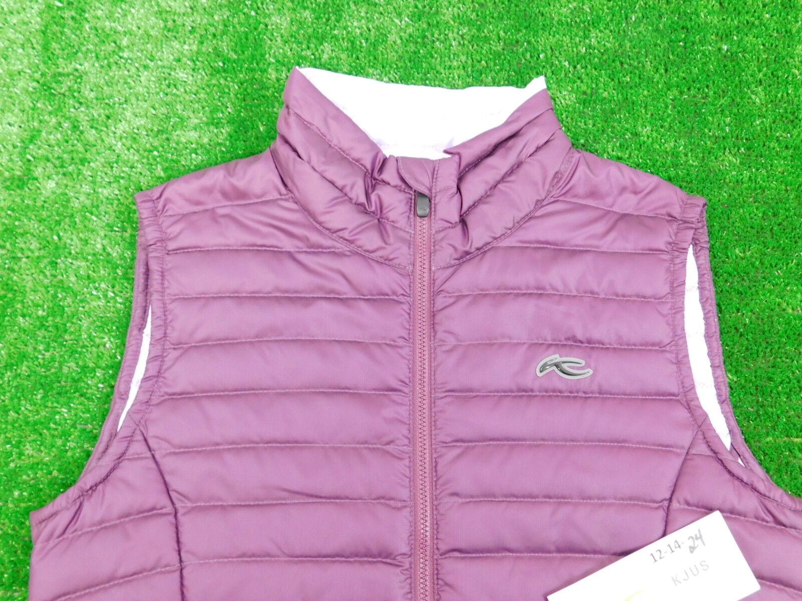 Kjus Ladies Cypress Down Vest Purple 36 Small New