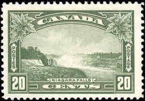 Mint-H-Canada-20c-F-1935-Scott-225-King-George-V-Pictorial-Stamp
