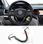Carbon Fiber Steering Wheel Frame Cover Trim For Jeep Grand Cherokee 2014-2018