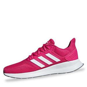 ADIDAS FALCON DAMEN Sportschuhe Laufschuhe Turnschuhe Halbschuhe Schuhe pink