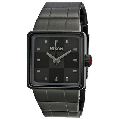 Nixon Quatro Gunmetal Mens Watch A013131