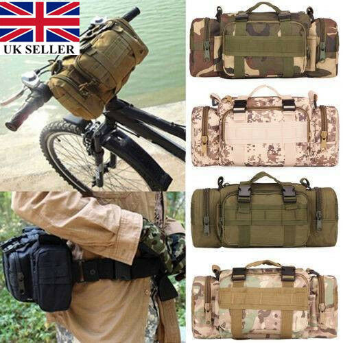 Outdoor Military Tactical MOLLE Shoulder Bag Waist Pouch Pack Camping Bag