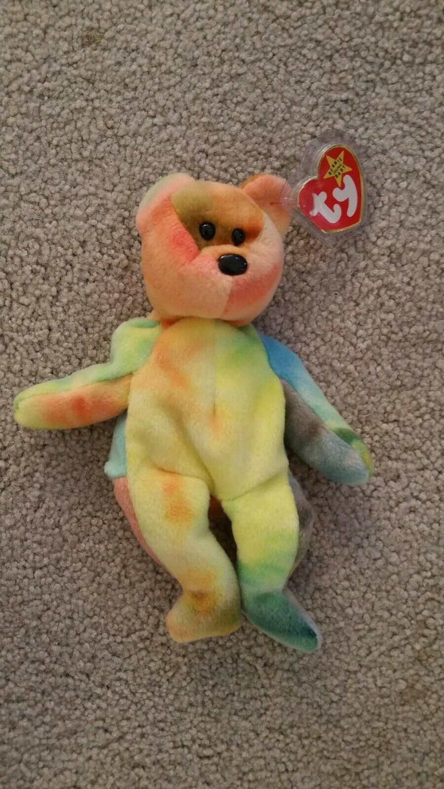Ty beanie babies Garcia Lots of Yellow, great colors