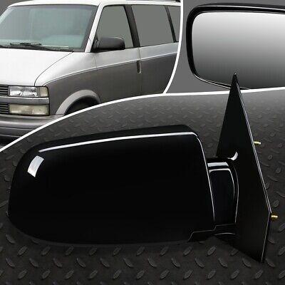 88-98 Chevy Astro GMC Van Power Black Rear View Door Mirror Right Passenger Side
