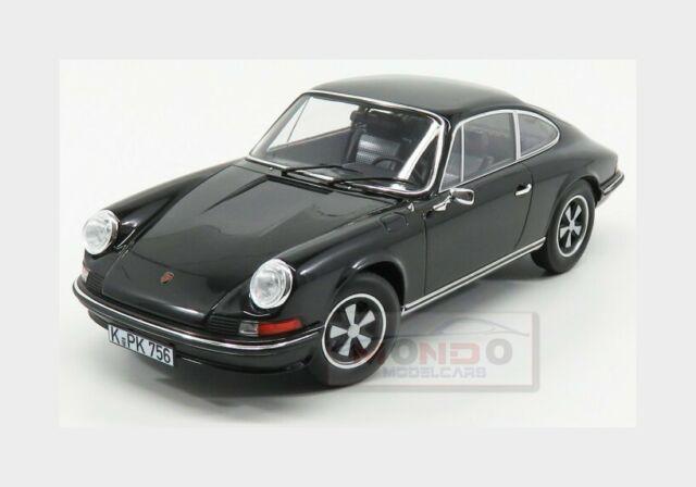 Porsche 911 Turbo 3.3 Typ 930 1977 black diecast modelcar187576 Norev 1:18