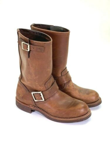 Red Wing Shoes Womens Engineer Harness Boots Amber