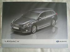 Subaru Legacy brochure c2009