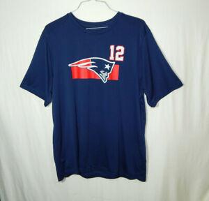 Details about Tom Brady New England Patriots NFL Football Jersey T Shirt Mens Size 2XL XXL