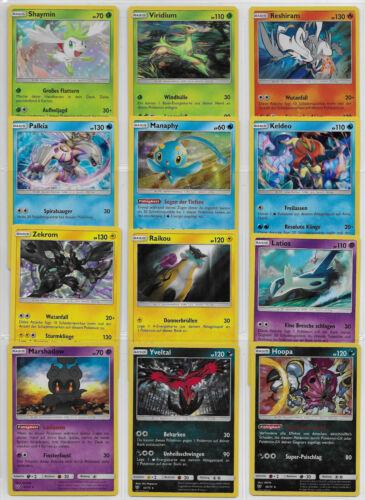 Set Schimmernde Legenden 2017 Lot Deutsch Mint Pokemon Karten Sammlung