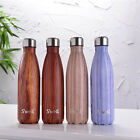Hand Painted NIB S'WELL Teakwood 17OZ Water Bottle Swell Bottle 8 Colors New