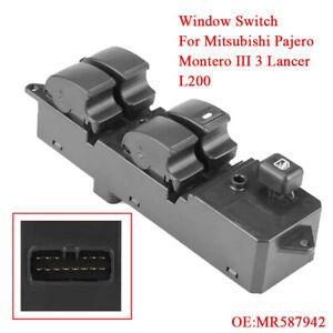 SWITCH WINDOW REGULATOR FOR MITSUBISHI PAJERO 2003-2006  //5 PINS//  //EWS-MS-005//