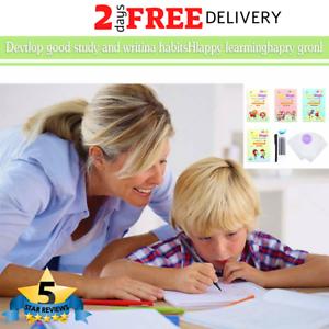 English Copybook Number Book 26pcs Sank Magic Set Reusable Practice Preschooler