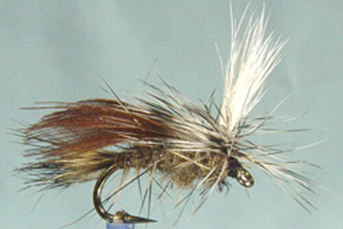 1 x Mouche Sèche Sedge Roux Para H1214//16//18 mosca fliegen emerger