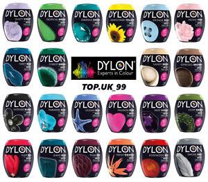 Dylon Lavatrice Tessuti Colorante Pod Per Vestiti & Arredamenti, 350g, tutti i colori