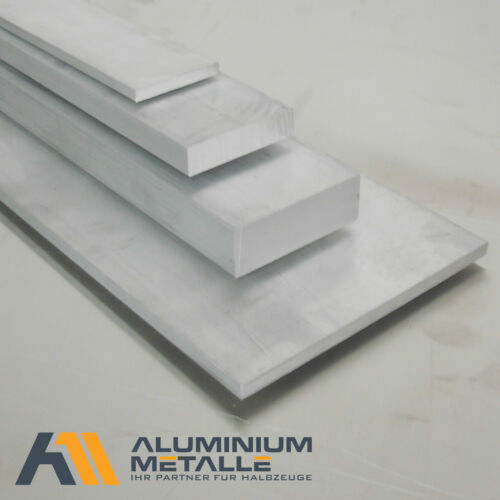 Aluminium Flachstange 100x20mm Länge wählbar Alu Flachmaterial AlCuMgPb Flach