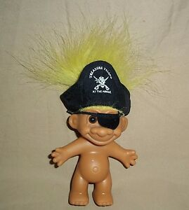 Image is loading 8-034-Yellow-Hair-Troll-Pirate-Treasure-Island- & 8