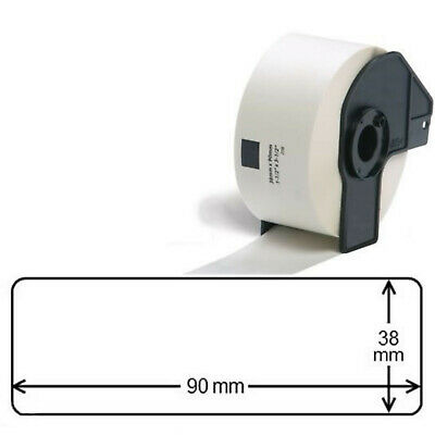 COMPATIBLE BROTHER DK-11208 38mm x 90mm 400 ADDRESS LABELS PER ROLL