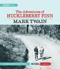 The Adventures of Huckleberry Finn by Mark Twain (CD-Audio, 2008)