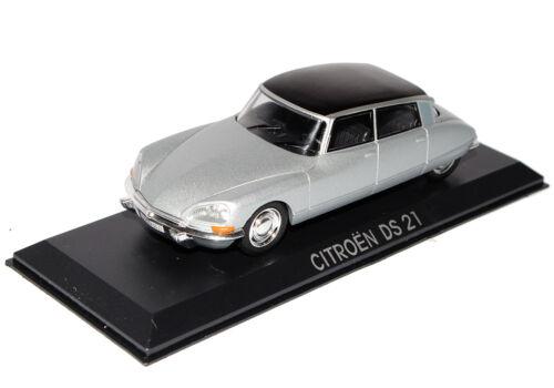 Citroen DS21 Limousine Silber Schwarz 1//43 Modellcarsonline Modell Auto mit od..