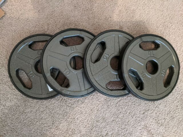 Olympic Rubber Coated Grip Plate Champion Barbell® 25 lb