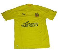 Villarreal CF Shirt Home 2010/11 Puma S Camiseta