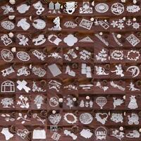 New 250 Type Metal Cutting Dies Stencil Scrapbook Paper Card Craft Embossing DIY