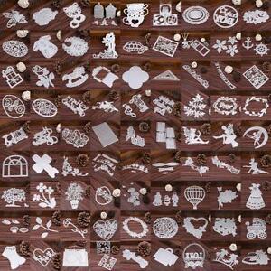 Metal-Blume-Voegel-Cutting-Dies-Scrapbooking-Karte-Tagebuch-Stanzschablone