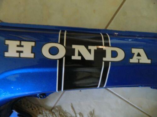 HONDA ct70 Ko 2 pc Black w//white racing stripe main frame decal 1969 models Ko