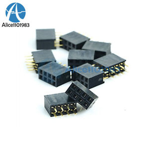 Electronic Components & Supplies Integrated Circuits Search For Flights 20pcs 2x6 12 Pin 2.54mm Double Row Female Straight Header Pitch Socket Pin Strip