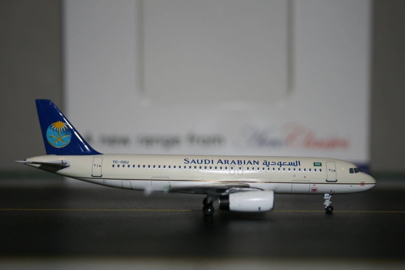 Aeroklassics 1 400 saudiarabisk flygbusss A320 -200 TC -OGJ (ACCOGJ) modelllllerlerl plan