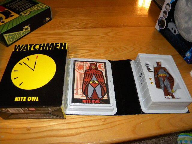 Watchmen Nite Owl DC Mattel Mattycollector 6  Figure W Box