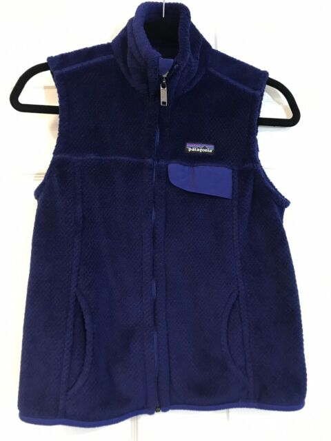 PATAGONIA Re-Tool Fleece Vest, Womens Small