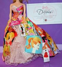 2009 GENERATIONS of DREAMS Barbie MODEL MUSE Fashion Fits NICE on Vintage Repro