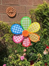Windmill Multi-Color Wind Spinner Colorful Outdoor Garden Decoration  Large Ne