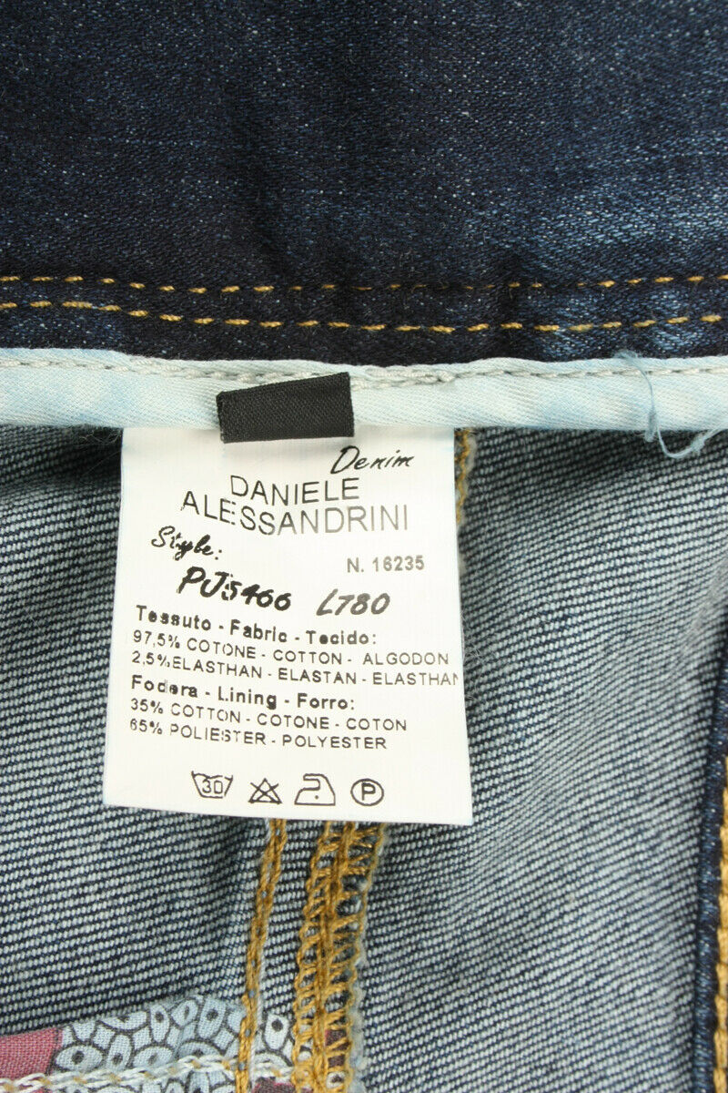 Bermuda Daniele Alessandrini Short Cotone Cotone Cotone Uomo Denim PJ5466L780 234f5c