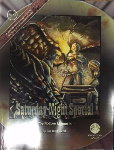 Pathfinder RPG module Saturday Night Special The Hollow Mountain SNS1