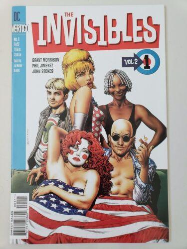 THE INVISIBLES Vol 2 #1 1997 VERTIGO GRANT MORRISON TV SHOW BRIAN BOLLAND NM
