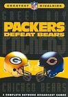 NFL Greatest Rivalries Packers Defeat Bears 3 PC 0883929105847 DVD Region 1