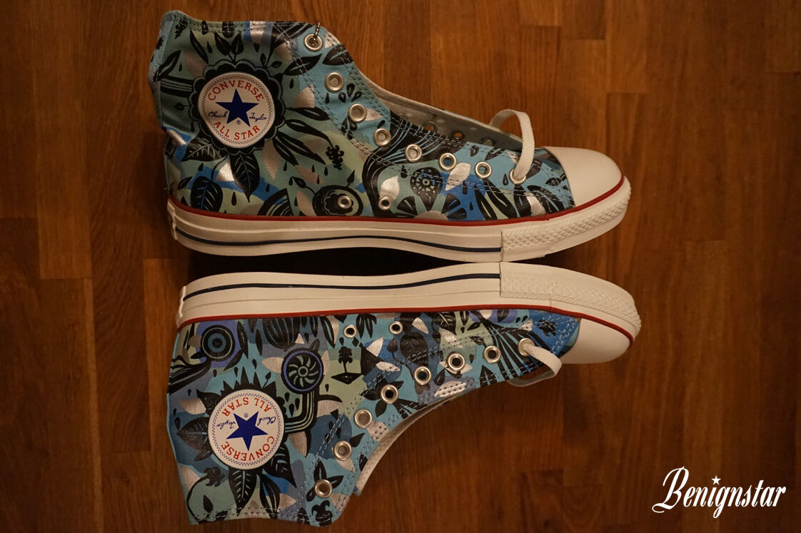 Converse Taylor Star All Hi alte All Star Top Gina Triplett da uomo UK11 240ed6