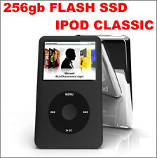 240GB /256GB SSD Flash upgrade Thin iPod Classic 7th Gen 160GB (Latest Model)