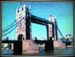 Londra Tower Bridge CROSS STITCH KIT