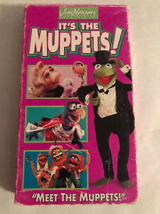 b7ea2d80 JIM HENSON IT'S THE MUPPETS!, MEET THE MUPPETS!, VHS 1993 | eBay