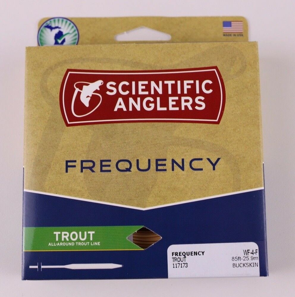Scientific Anglers Frequency Trout Fly Line WF4F Free Fast  Shipping 117173  big discount prices