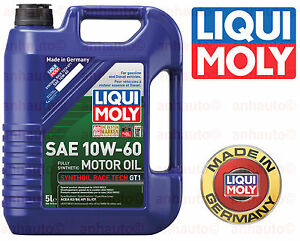 liqui moly 10w 60 fully synthetic racetech motor oil 2024. Black Bedroom Furniture Sets. Home Design Ideas